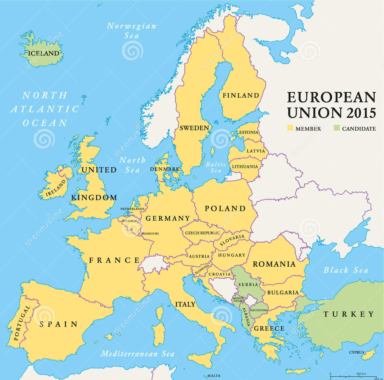 European Union Map 201515